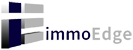 ImmoEdge Real Estate Marketing Logo
